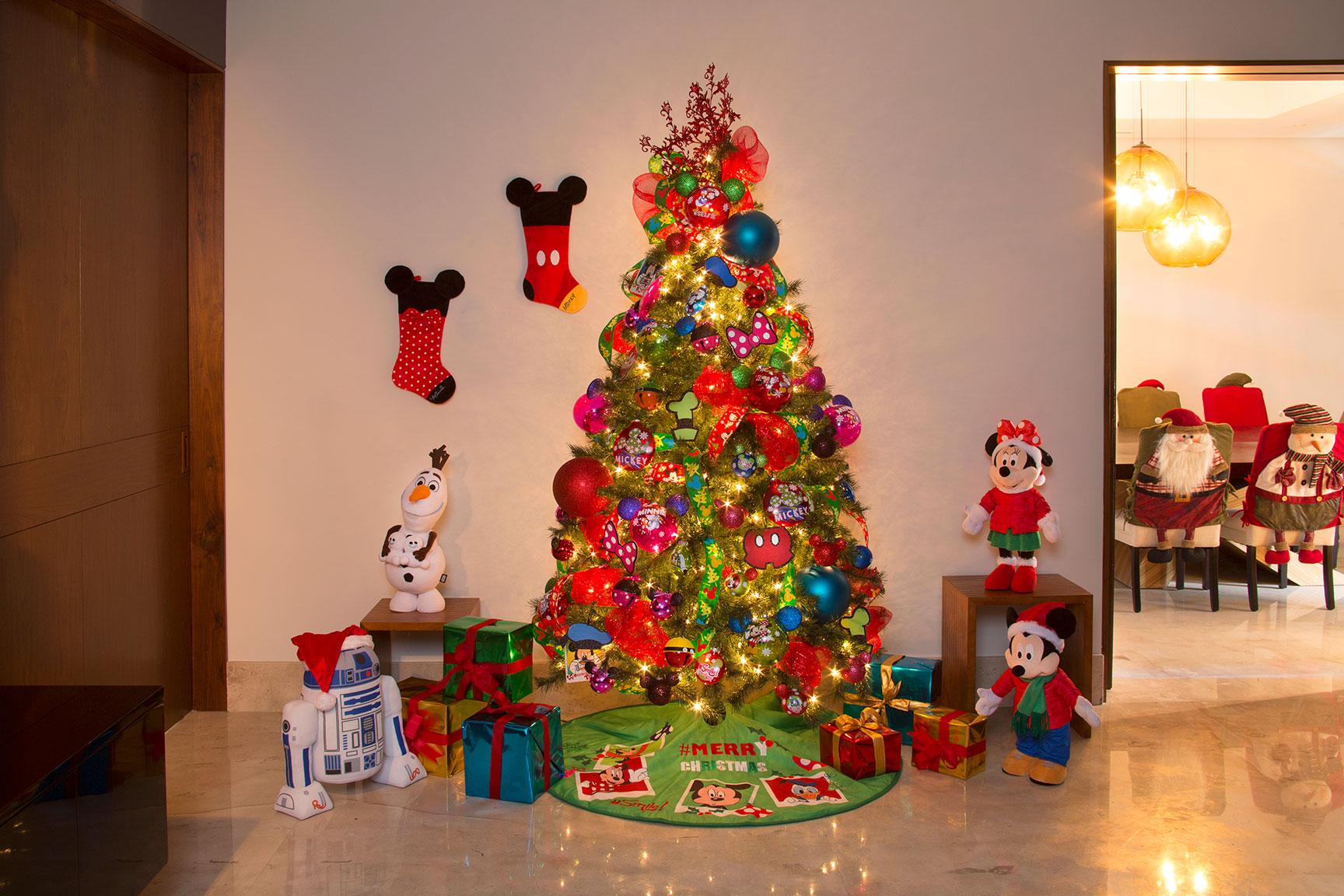 Im genes de rboles navide os decorados para el hogar - Decoracion para arboles navidenos ...