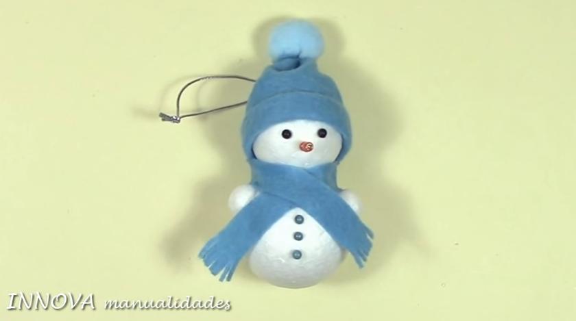 Aprende Como Hacer Muñecos De Nieve Para Decorar Tu Árbol Navideño