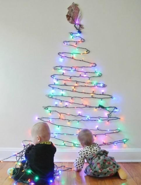 10 Opciones De Árboles De Navidad Para Casas  Muy Pequeñas
