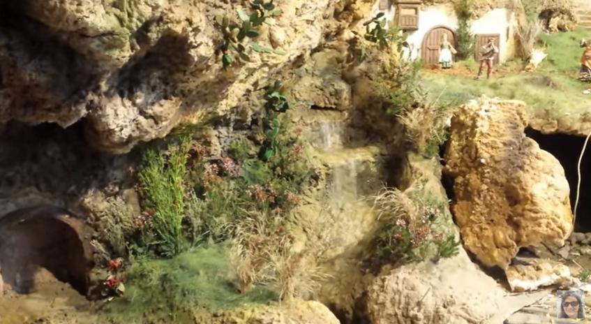Aprende Hacer Una Cascada Para Belén Con Jardín