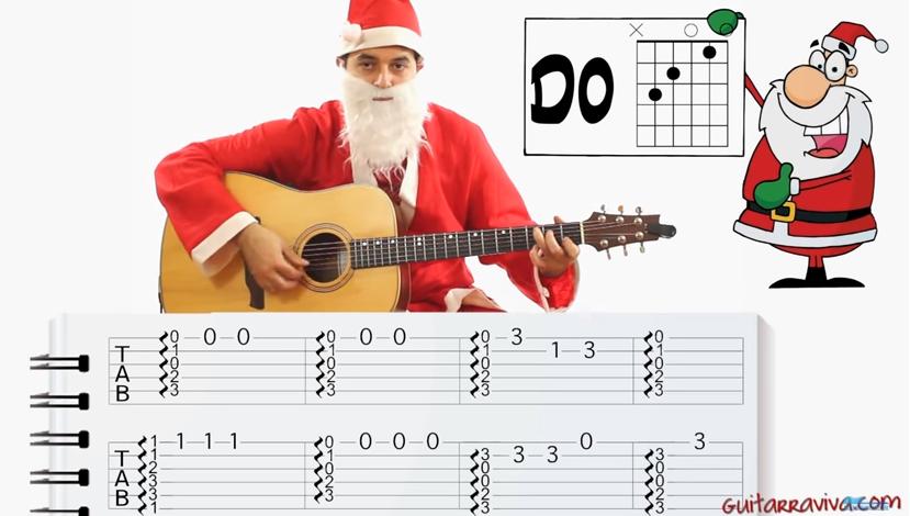 Aprende Como Tocar Villancico Navidad Navidad En Guitarra