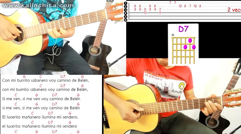 Aprende a Tocar Burrito Sabanero En Guitarra Para Estas Posadas Navideñas