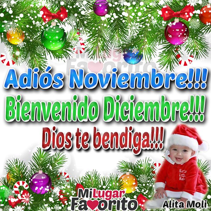 Imágenes Para Dar La Bienvenida Al Mes De Diciembre