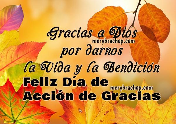 Tarjetas Del Día De Acción De Gracias Para Enviar Por Facebook