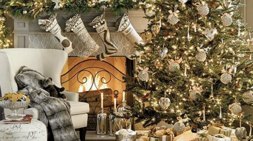 Ideas Para Decorar Tu Navidad En Color Dorado