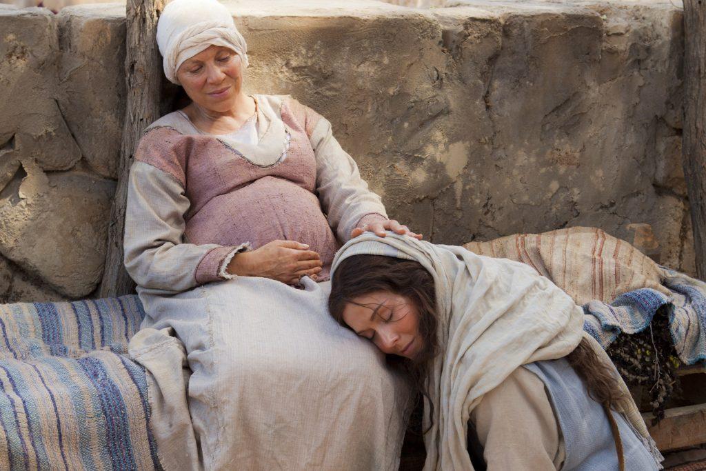 María Visita a Su Prima