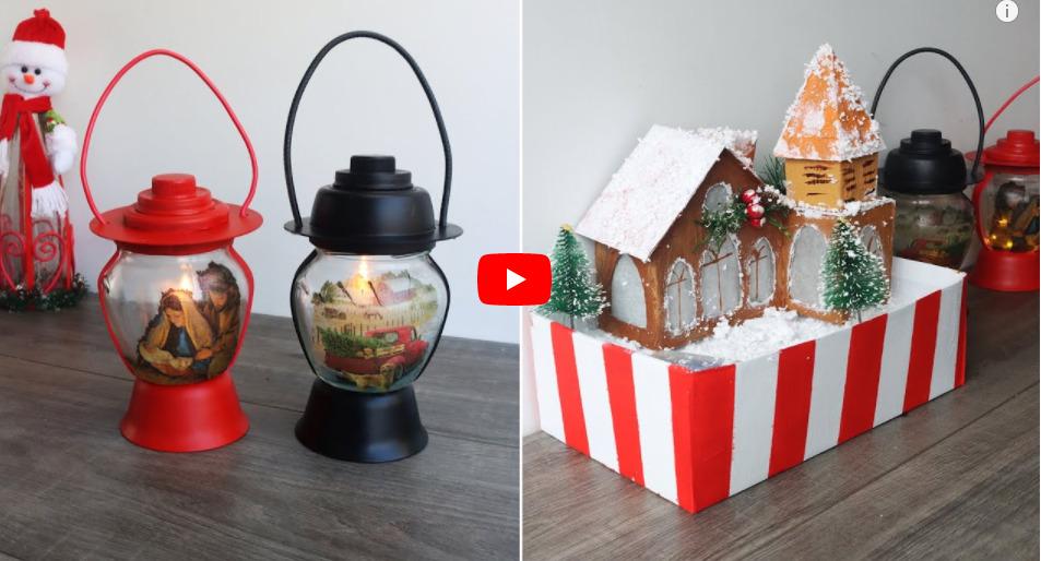 3 Hermosas Manualidades Para Esta Navidad